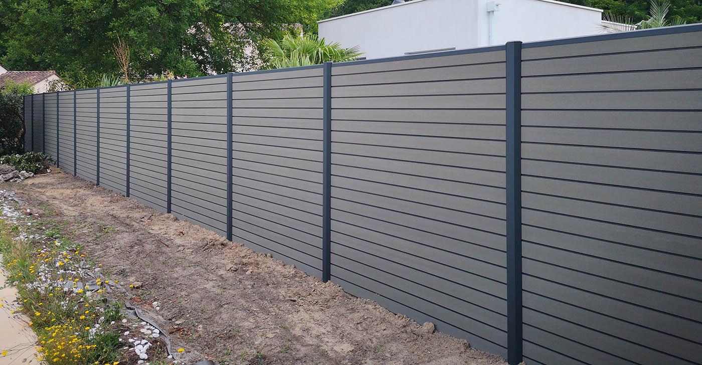 design intemporel 73042 8399c Lames composites OCEWOOD | Multiclot - Clôtures et Portails ...