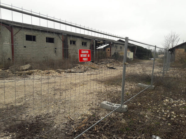 clôture pour fermeture de chantier